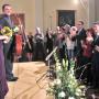 Glücklich nach erfolgreichem Start ins Kammermusikfestival : Nassib Ahmadieh und Johanna Zmeck  | Foto: Jürgen Weser