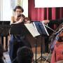 Das Pelleas Ensemble begeisterte das Finsterwalder Publikum ebenfalls  | Foto: Jürgen Weser